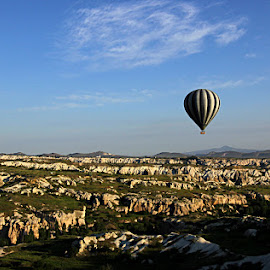 Hot air balloon by Abhishek Singh - Novices Only Landscapes