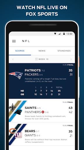 Download FOX Sports: Live Streaming, Scores & News MOD APK 1