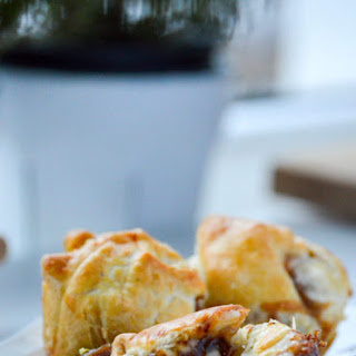 Brie Bites with Fig Jam.