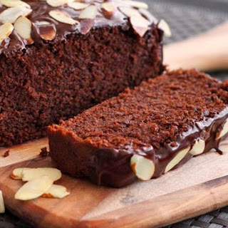 Dark Chocolate Almond Cake.