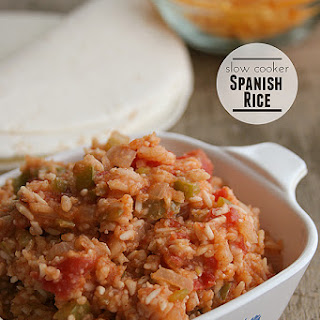 Slow Cooker Spanish Rice