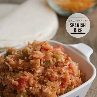 Slow Cooker Spanish Rice.