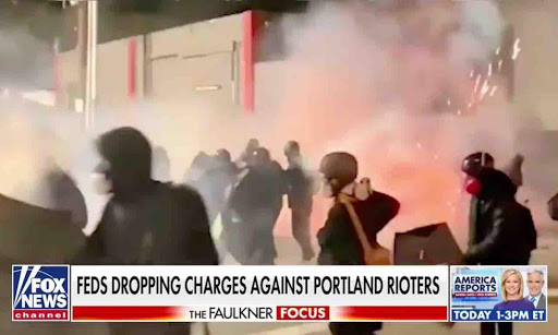 Now over half of nearly 100 cases against federally charged Portland rioters are being dismissed — and only one perp is heading to prison so far