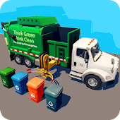 Garbage Truck & Recycling SIM Android APK Download Free By Fun Blocky Games