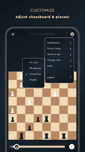 Tactics Frenzy u2013 Chess Puzzles modavailable screenshots 8