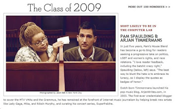 Photo: Screencap of the print feature from the OUT 100 2009.