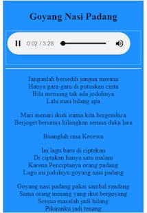 Lirik Goyang Nasi Padang : lirik, goyang, padang, Download, Goyang, Padang, Lirik, Versi, Remix, Windows, Music, Audio, Android