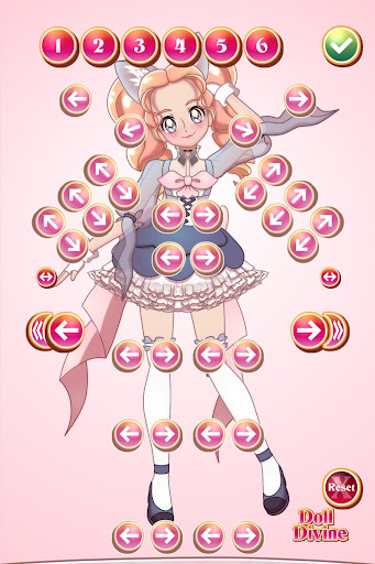Screenshot for Glitter Cure Anime Dress Up in United States Play Store