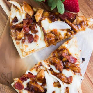 Chicken Bacon Ranch Pizza.