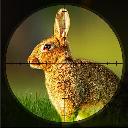 Rabbit hunting - Sniper Hunters Challenge Game