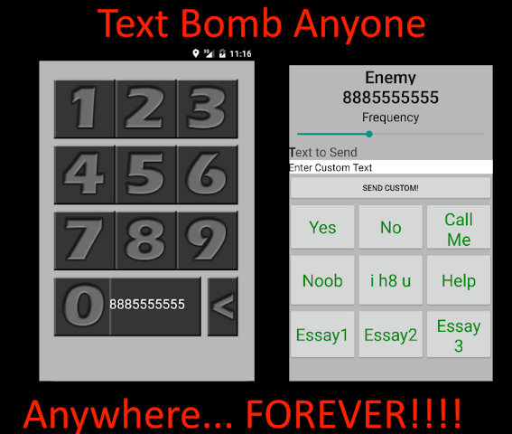 Anonymous SMS Bomber Aka Flooder- Ultimate Text Bomb Prank