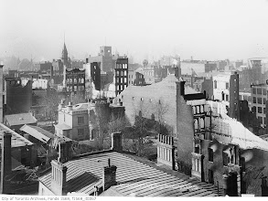 Photo: View from the Queen's Hotel (where the Royal York now stands)