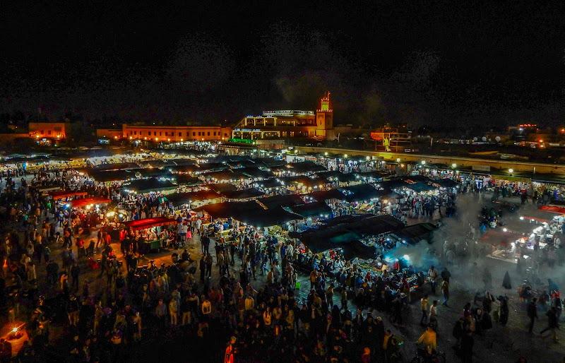 Una notte al mercato di Pesca