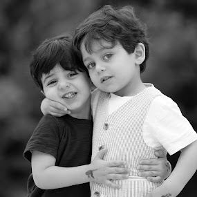 Big Brother Little Brother by Rany Haj - Babies & Children Child Portraits