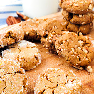 Orange Molasses Cookies
