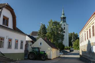 Photo: Do granicy z Czechami pozostało kilkanaście kilometrów. Po drodze odwiedzam Dobersberg.