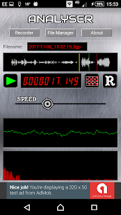 MeloSounds Digital Audio Recorder- screenshot thumbnail