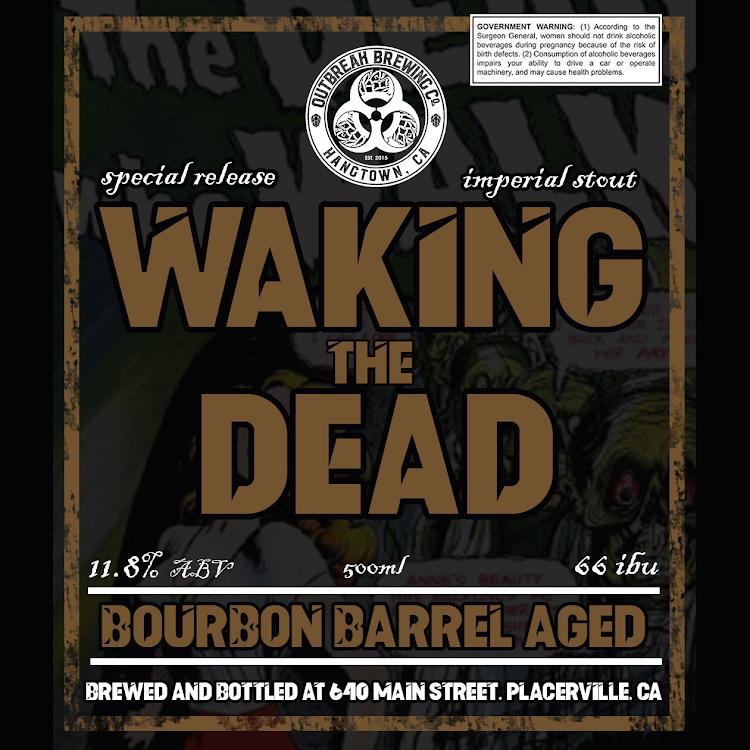 Logo of Outbreak Waking The Dead Bourbon Barrel Aged