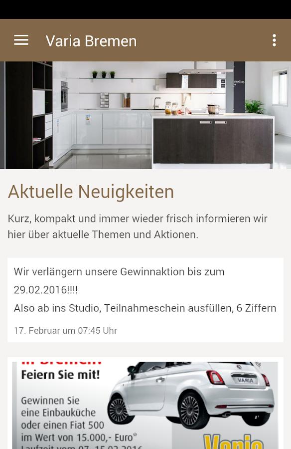 VARIA - DAS Küchenhaus - Programu za Android kwenye Google Play