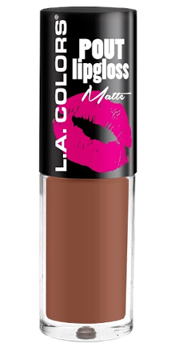 LABIAL MATE LA COLORS POUT LIPGLOSS ENTICING