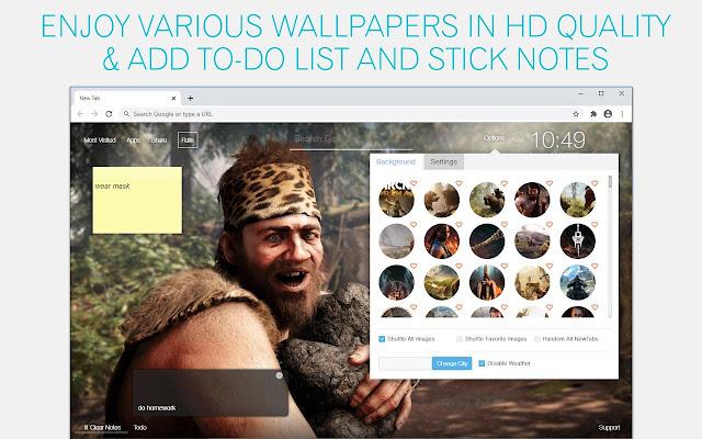 Far Cry Primal Wallpaper HD Far Cry Primal New Tab
