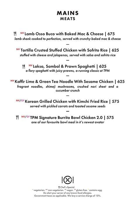Dirty Apron menu 4