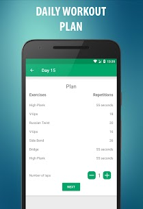 Abs workout  – 21 Day Fitness Challenge 2.2.0.0 Unlocked MOD APK Android 3