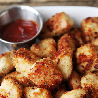 Seasoned Baked Chicken Nuggets.