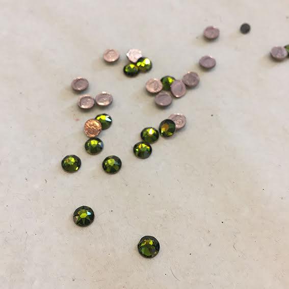 Swarovski Kristall - olivine