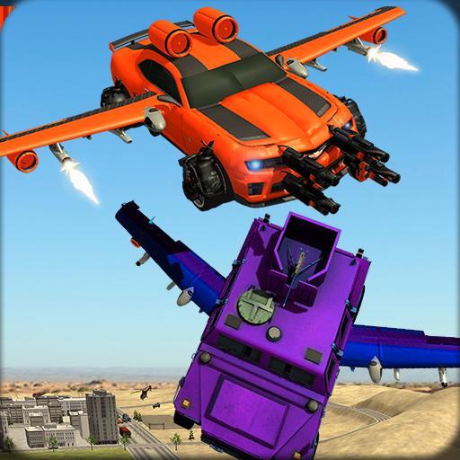 Furious Flying Car Crash