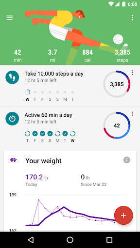 Google Fit - Fitness Tracking  screenshots 3