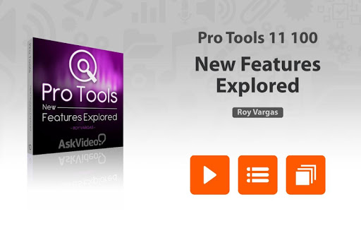 AV For Pro Tools 11 Features