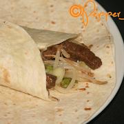Mongolian Beef Wrap
