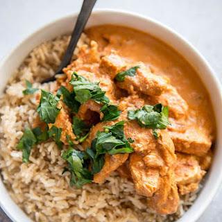 Instant Pot Chicken Tikka Masala.