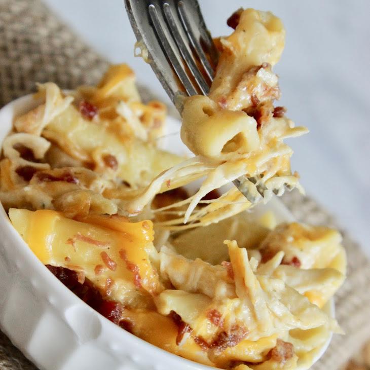 Slow Cooker Crack Chicken Pasta Recipe