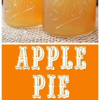 Apple Pie Liquor.