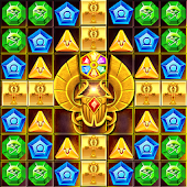 Cleopatra Quest Match3 Puzzle Android APK Download Free By Abilix