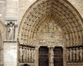 Photo: Door of Notre Dame, Paris, France