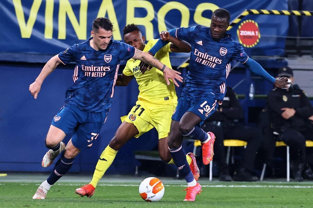 Arsenal đã để thua Villarreal 1-2 ở trận lượt đi