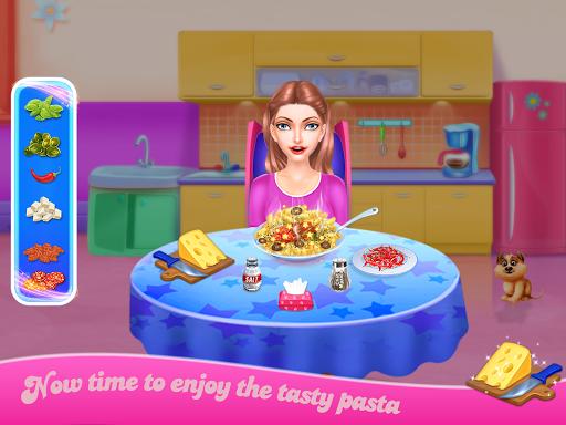 Make pasta cooking kitchen apktram screenshots 4