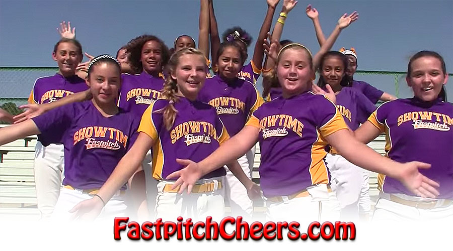 Fastpitch Softball Cheers Video App