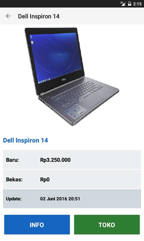 Harga Laptop- screenshot