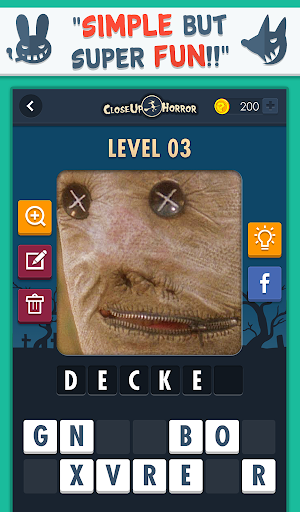 Close Up Horror: Pic Word Quiz screenshot 5