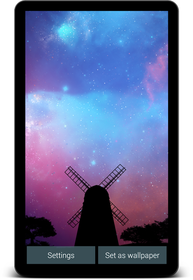 Nightfall Live Wallpaper Free- screenshot