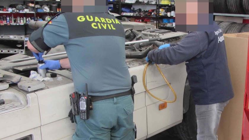 Una de las inspecciones realizadas.