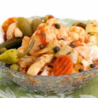 Mediterranean Tuna Salad Giardiniera