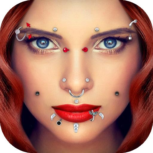 Piercing Camera Icon