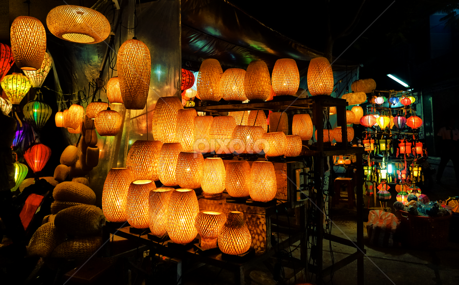 HoiAn by night  ( VietNam ) by Tran Ngoc Phuc Ngoctiendesign - City,  Street & Park  Night (  )