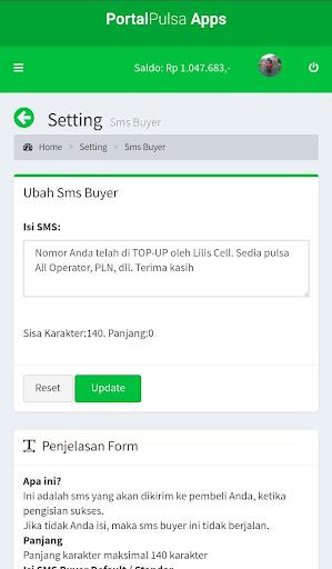 Portal Pulsa - Distributor Pulsa Termurah  screenshots 6