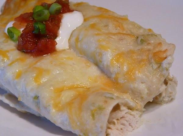 Mom's Chicken Enchiladas Recipe
